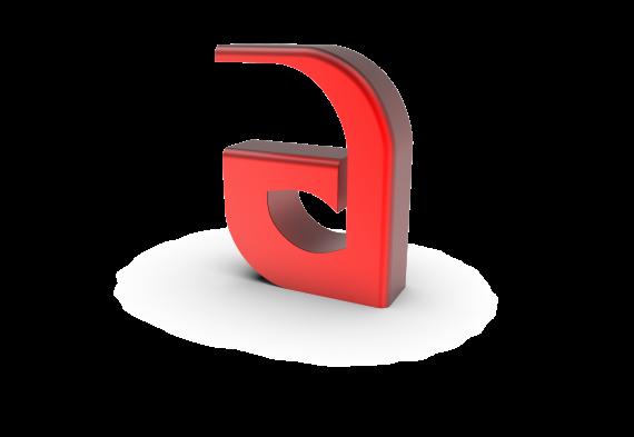logo ön izometrik yazı 6.9 - 1